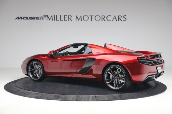 Used 2013 McLaren MP4-12C Spider for sale $134,900 at Aston Martin of Greenwich in Greenwich CT 06830 4