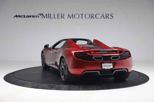 Used 2013 McLaren MP4-12C Spider for sale $134,900 at Aston Martin of Greenwich in Greenwich CT 06830 5