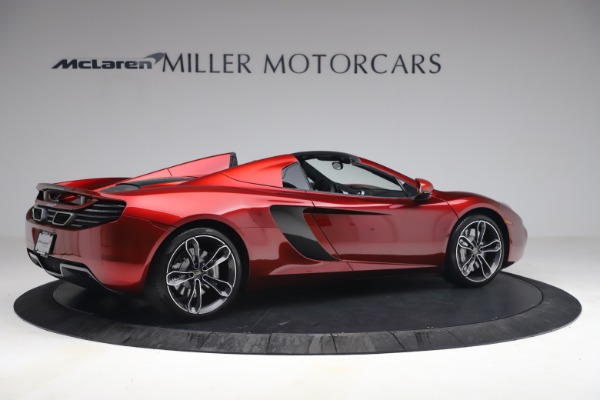 Used 2013 McLaren MP4-12C Spider for sale $134,900 at Aston Martin of Greenwich in Greenwich CT 06830 8