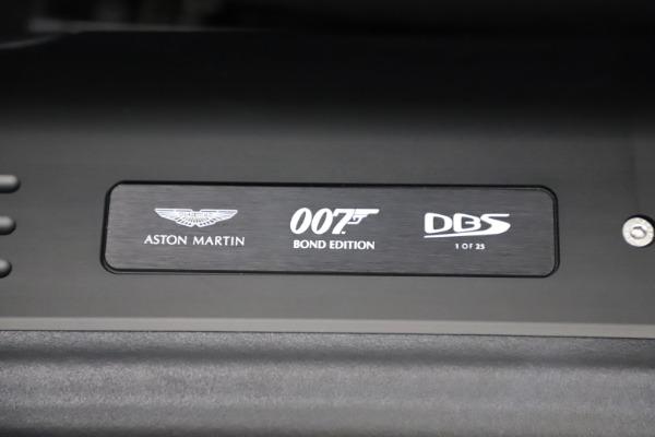 New 2021 Aston Martin DBS Superleggera 007 for sale $391,211 at Aston Martin of Greenwich in Greenwich CT 06830 19