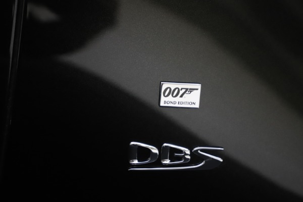 New 2021 Aston Martin DBS Superleggera 007 for sale $391,211 at Aston Martin of Greenwich in Greenwich CT 06830 26