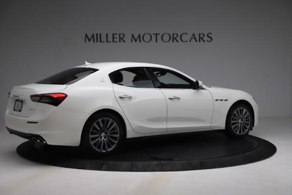 New 2021 Maserati Ghibli SQ4 for sale Sold at Aston Martin of Greenwich in Greenwich CT 06830 8