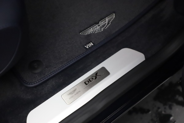 New 2021 Aston Martin DBX for sale $195,786 at Aston Martin of Greenwich in Greenwich CT 06830 24