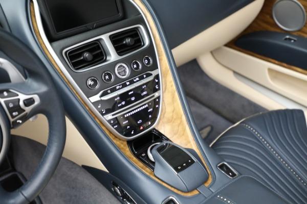 Used 2019 Aston Martin DB11 Volante for sale $209,900 at Aston Martin of Greenwich in Greenwich CT 06830 18