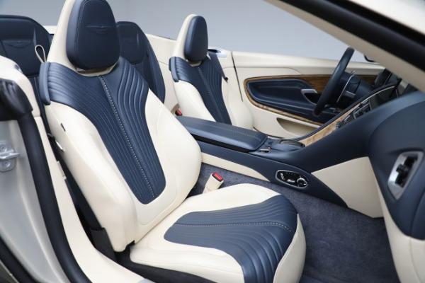 Used 2019 Aston Martin DB11 Volante for sale $209,900 at Aston Martin of Greenwich in Greenwich CT 06830 23