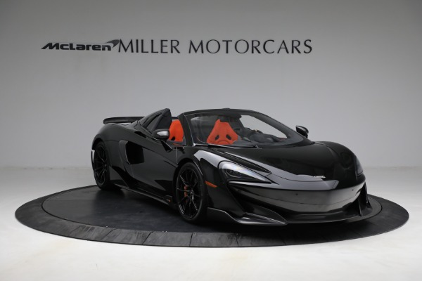 Used 2020 McLaren 600LT Spider for sale Call for price at Aston Martin of Greenwich in Greenwich CT 06830 11