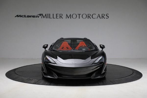 Used 2020 McLaren 600LT Spider for sale Call for price at Aston Martin of Greenwich in Greenwich CT 06830 12