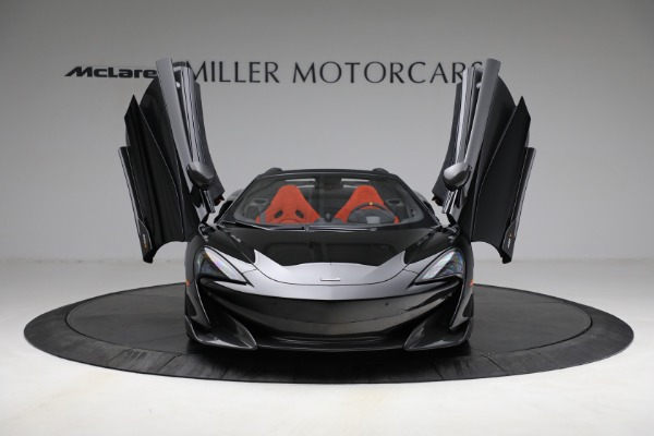 Used 2020 McLaren 600LT Spider for sale Call for price at Aston Martin of Greenwich in Greenwich CT 06830 13