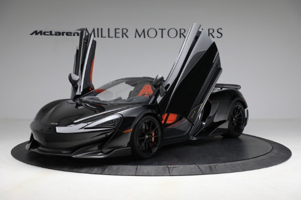 Used 2020 McLaren 600LT Spider for sale Call for price at Aston Martin of Greenwich in Greenwich CT 06830 14