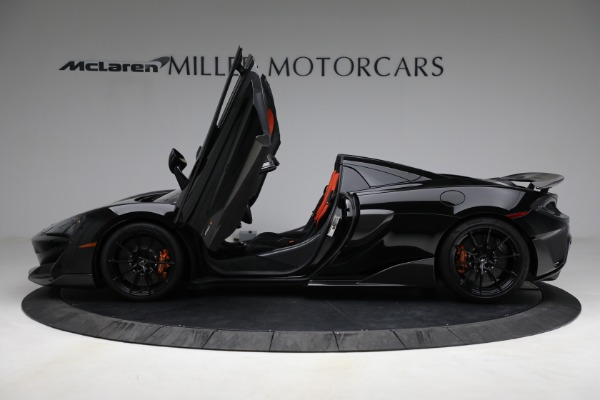 Used 2020 McLaren 600LT Spider for sale Call for price at Aston Martin of Greenwich in Greenwich CT 06830 15
