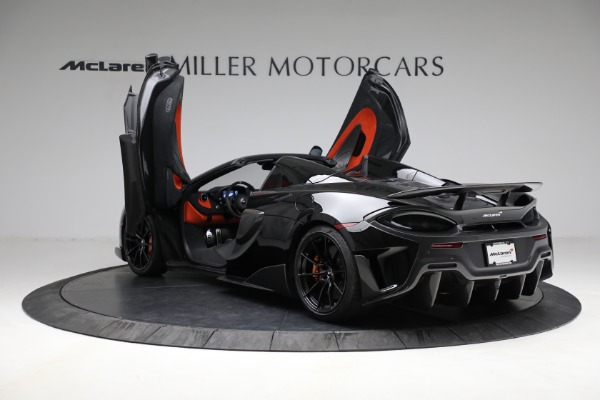 Used 2020 McLaren 600LT Spider for sale Call for price at Aston Martin of Greenwich in Greenwich CT 06830 16