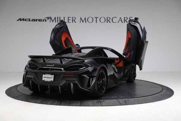 Used 2020 McLaren 600LT Spider for sale Call for price at Aston Martin of Greenwich in Greenwich CT 06830 17
