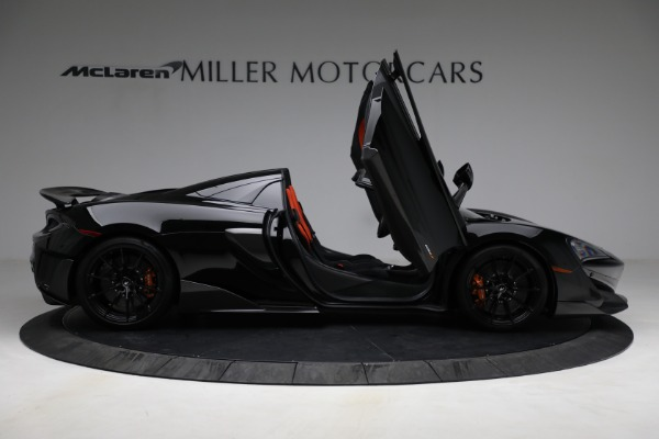 Used 2020 McLaren 600LT Spider for sale Call for price at Aston Martin of Greenwich in Greenwich CT 06830 18