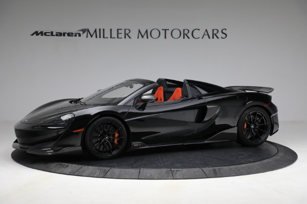 Used 2020 McLaren 600LT Spider for sale Call for price at Aston Martin of Greenwich in Greenwich CT 06830 2