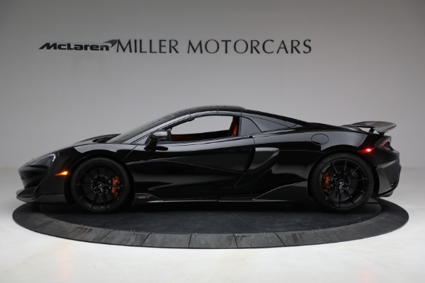 Used 2020 McLaren 600LT Spider for sale Call for price at Aston Martin of Greenwich in Greenwich CT 06830 21