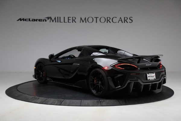 Used 2020 McLaren 600LT Spider for sale Call for price at Aston Martin of Greenwich in Greenwich CT 06830 22