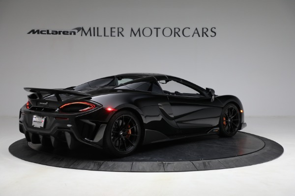 Used 2020 McLaren 600LT Spider for sale Call for price at Aston Martin of Greenwich in Greenwich CT 06830 24