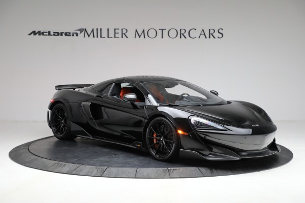 Used 2020 McLaren 600LT Spider for sale Call for price at Aston Martin of Greenwich in Greenwich CT 06830 26