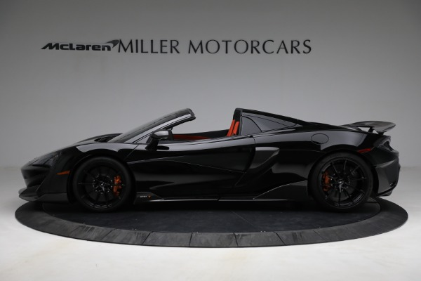 Used 2020 McLaren 600LT Spider for sale Call for price at Aston Martin of Greenwich in Greenwich CT 06830 3