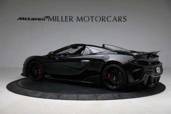 Used 2020 McLaren 600LT Spider for sale Call for price at Aston Martin of Greenwich in Greenwich CT 06830 4