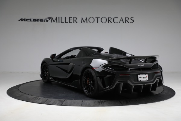 Used 2020 McLaren 600LT Spider for sale Call for price at Aston Martin of Greenwich in Greenwich CT 06830 5