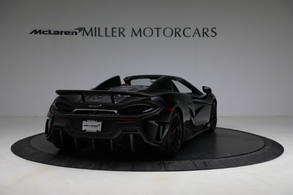 Used 2020 McLaren 600LT Spider for sale Call for price at Aston Martin of Greenwich in Greenwich CT 06830 7