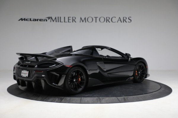 Used 2020 McLaren 600LT Spider for sale Call for price at Aston Martin of Greenwich in Greenwich CT 06830 8