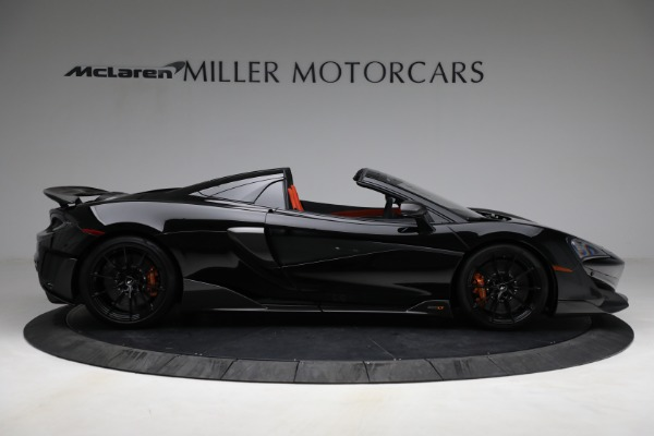 Used 2020 McLaren 600LT Spider for sale Call for price at Aston Martin of Greenwich in Greenwich CT 06830 9