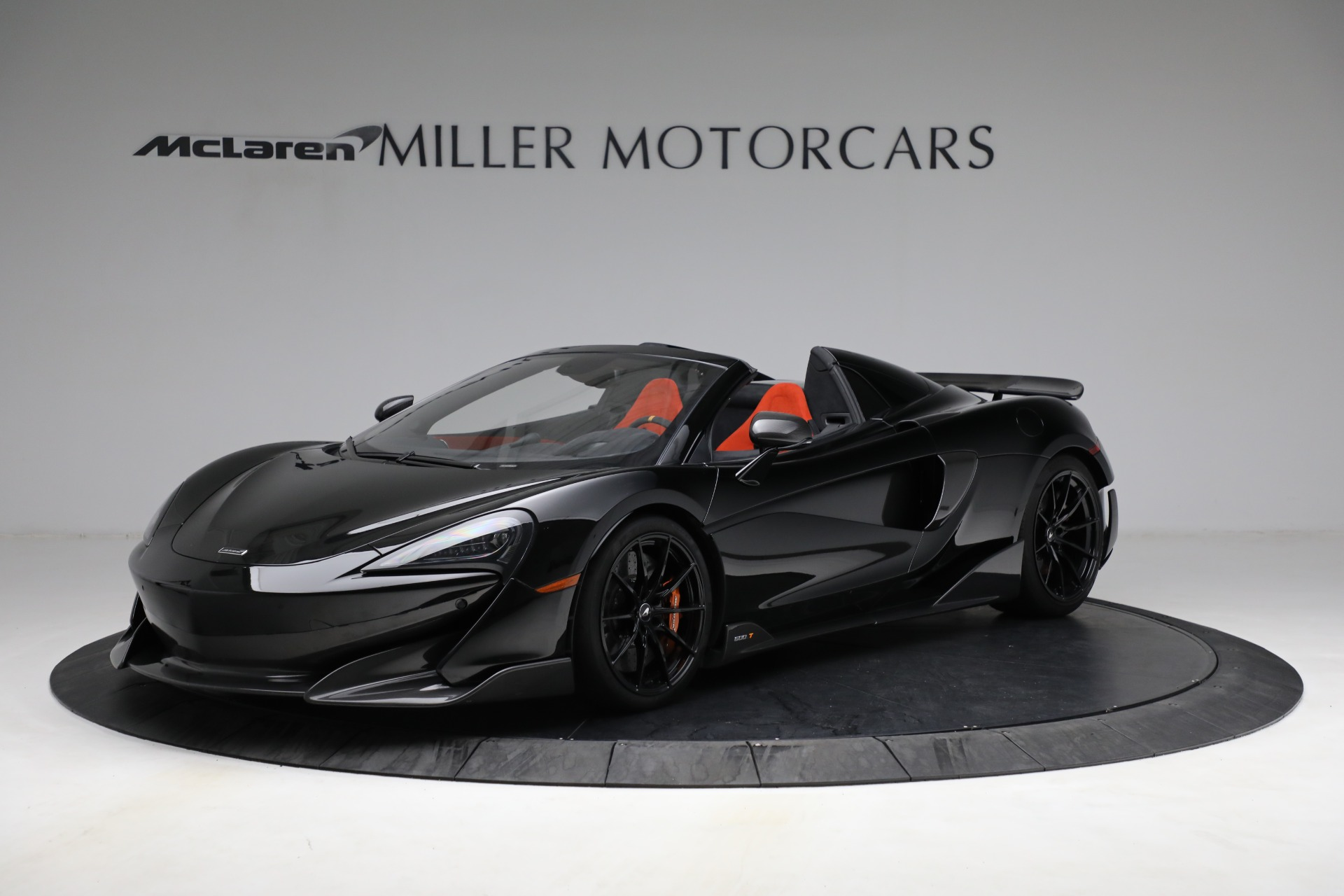 Used 2020 McLaren 600LT Spider for sale Call for price at Aston Martin of Greenwich in Greenwich CT 06830 1