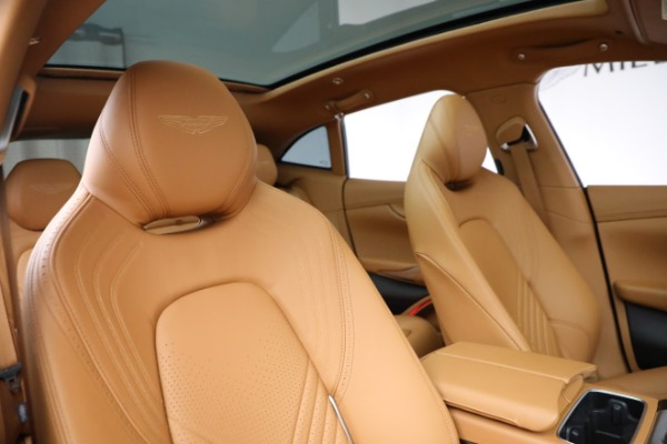 New 2021 Aston Martin DBX for sale $203,886 at Aston Martin of Greenwich in Greenwich CT 06830 18