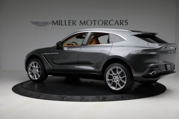 New 2021 Aston Martin DBX for sale $203,886 at Aston Martin of Greenwich in Greenwich CT 06830 3