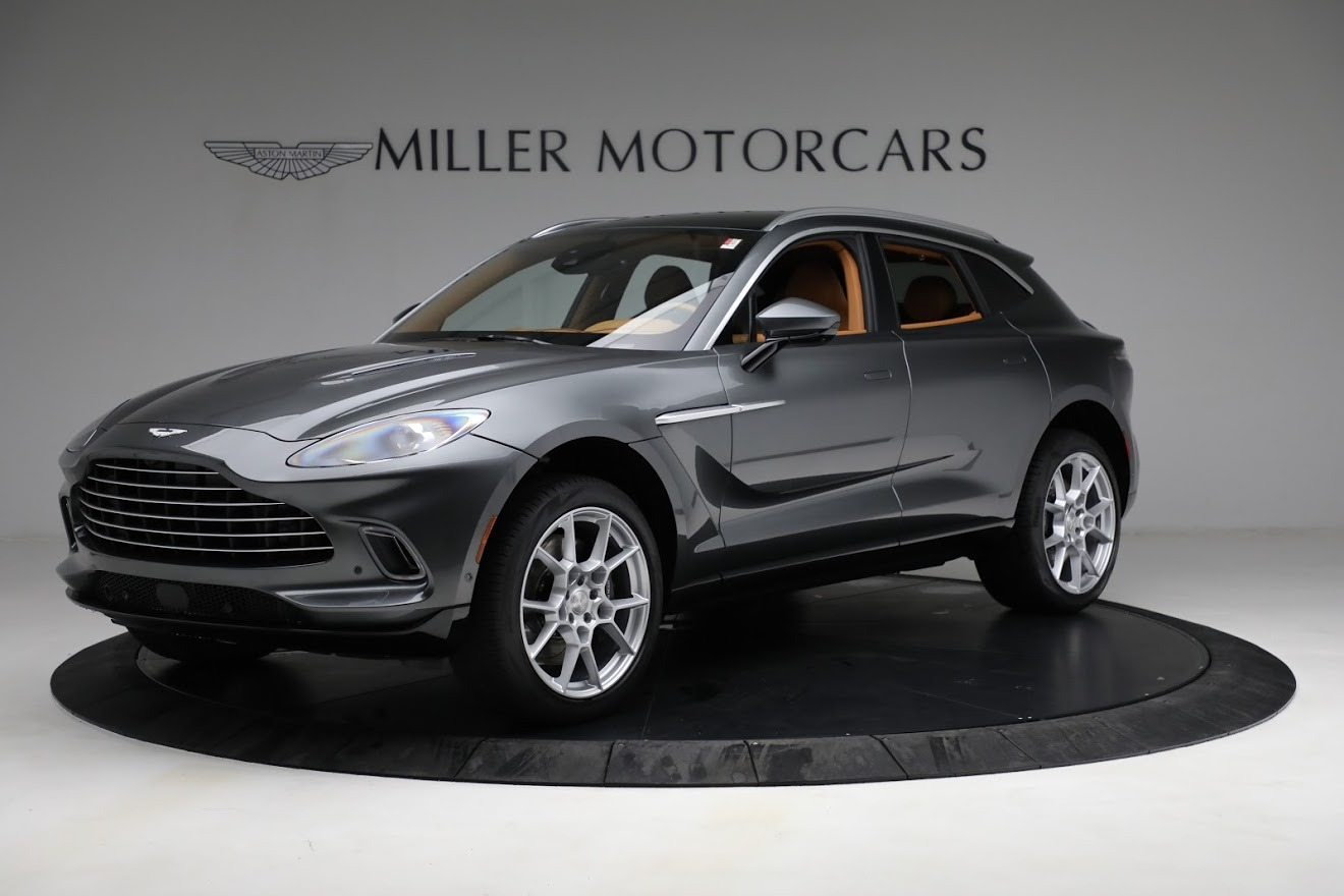 New 2021 Aston Martin DBX for sale $203,886 at Aston Martin of Greenwich in Greenwich CT 06830 1