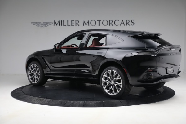 New 2021 Aston Martin DBX for sale $200,686 at Aston Martin of Greenwich in Greenwich CT 06830 3