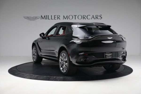 New 2021 Aston Martin DBX for sale $200,686 at Aston Martin of Greenwich in Greenwich CT 06830 4