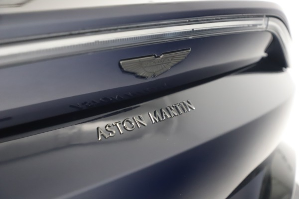 New 2021 Aston Martin Vantage for sale $189,686 at Aston Martin of Greenwich in Greenwich CT 06830 18