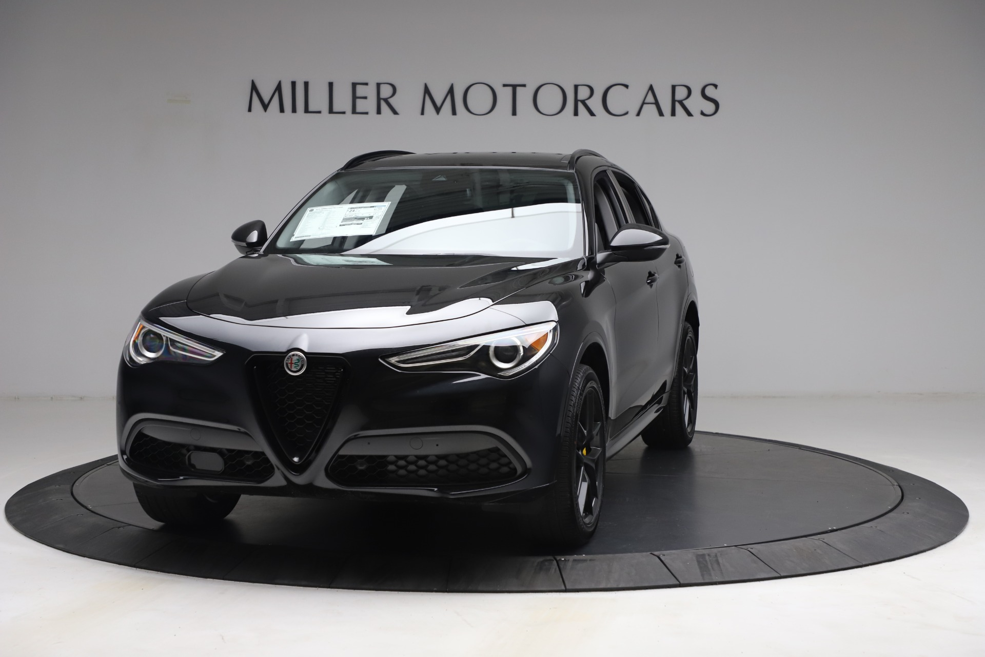 New 2021 Alfa Romeo Stelvio Ti for sale Sold at Aston Martin of Greenwich in Greenwich CT 06830 1