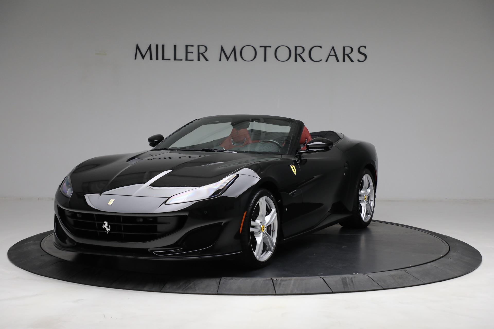 Used 2019 Ferrari Portofino for sale $249,900 at Aston Martin of Greenwich in Greenwich CT 06830 1