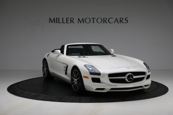Used 2012 Mercedes-Benz SLS AMG for sale $159,900 at Aston Martin of Greenwich in Greenwich CT 06830 10