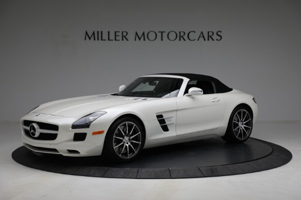 Used 2012 Mercedes-Benz SLS AMG for sale $159,900 at Aston Martin of Greenwich in Greenwich CT 06830 4