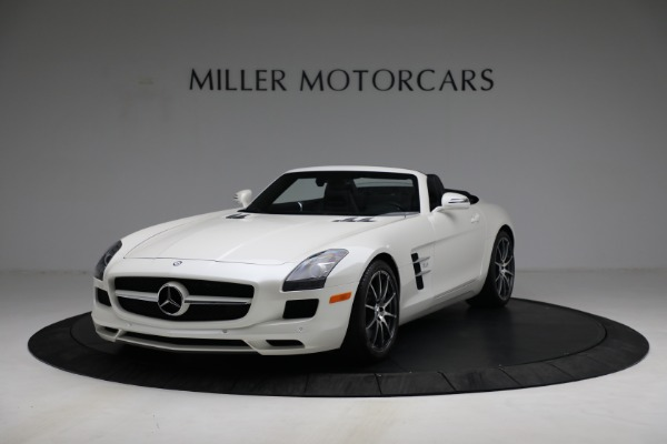 Used 2012 Mercedes-Benz SLS AMG for sale $159,900 at Aston Martin of Greenwich in Greenwich CT 06830 1