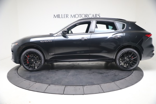 New 2021 Maserati Levante S GranSport for sale Call for price at Aston Martin of Greenwich in Greenwich CT 06830 3