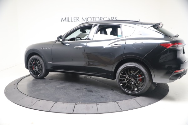 New 2021 Maserati Levante S GranSport for sale Call for price at Aston Martin of Greenwich in Greenwich CT 06830 4