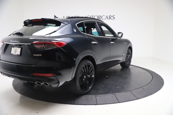 New 2021 Maserati Levante S GranSport for sale Call for price at Aston Martin of Greenwich in Greenwich CT 06830 7