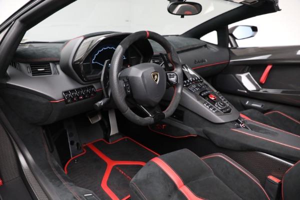 Used 2017 Lamborghini Aventador LP 750-4 SV for sale $599,900 at Aston Martin of Greenwich in Greenwich CT 06830 19