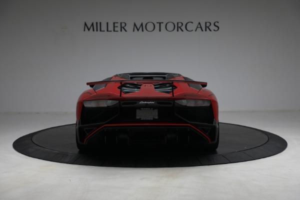 Used 2017 Lamborghini Aventador LP 750-4 SV for sale $599,900 at Aston Martin of Greenwich in Greenwich CT 06830 6