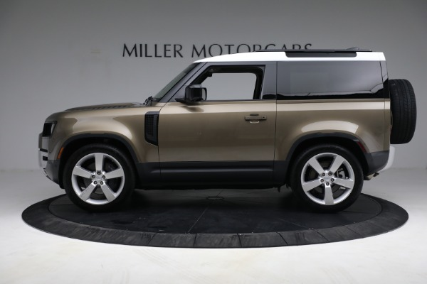 Used 2021 Land Rover Defender 90 First Edition for sale Sold at Aston Martin of Greenwich in Greenwich CT 06830 13