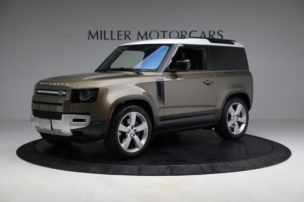 Used 2021 Land Rover Defender 90 First Edition for sale Sold at Aston Martin of Greenwich in Greenwich CT 06830 2