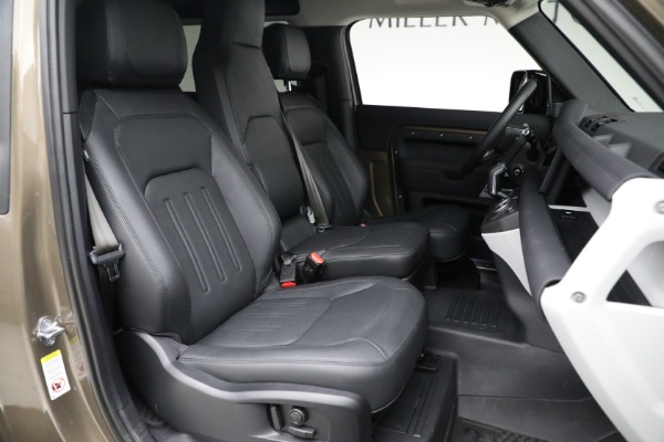 Used 2021 Land Rover Defender 90 First Edition for sale Sold at Aston Martin of Greenwich in Greenwich CT 06830 23