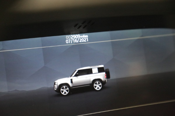 Used 2021 Land Rover Defender 90 First Edition for sale Sold at Aston Martin of Greenwich in Greenwich CT 06830 24