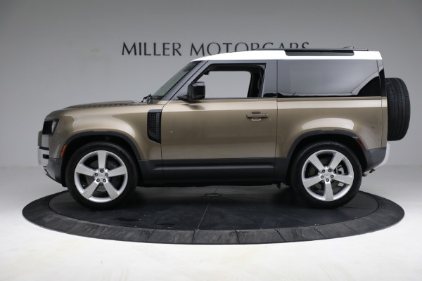 Used 2021 Land Rover Defender 90 First Edition for sale Sold at Aston Martin of Greenwich in Greenwich CT 06830 3